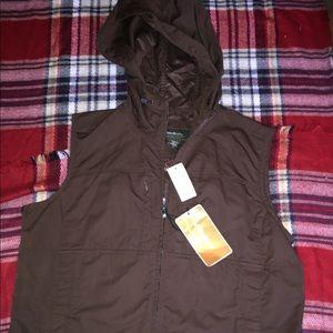 NWT L Eddie Bauer active vest layering essential